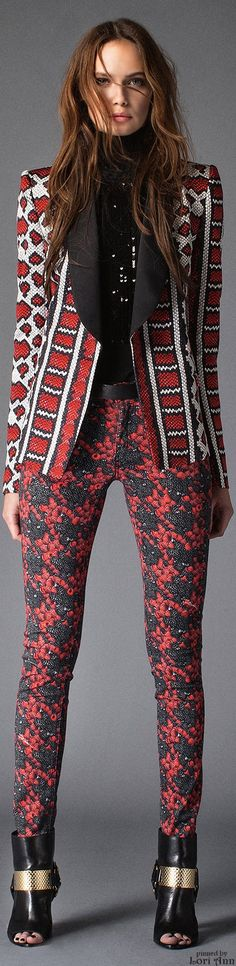 Just Cavalli.               Pre-Fall 2015.               The House of Beccaria.