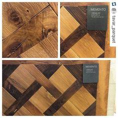 Tavar parquet. Square designs for wood parquet flooring.  Villa floor interior design.