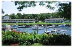 Riverside Motel - Ogunquit, Maine. Lightsngear absolutely loves The Riverside! (and adjoining Perkins Cove)