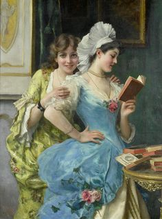 The Sisters, Federico Andreotti. Who are these gals? What to research...