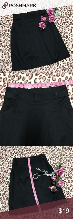 BCBGMaxAzria Black A line Skirt 👉🏼Great Condition.  👉🏼Measurements and some details are in the photos. 👉🏼Item(s) are used there will be minor flaws not seen.  👉🏼Item(s) may slightly different color in person. 👉🏼Please examine the photos very carefully  and ask all of your questions before purchase and if you're unsure  just don't buy. 👉🏼 My preparation:      👍🏻Washed.      👍🏻Condition re-check; zipper, buttons  etc..      👍🏻Pack neatly and securely.      👍🏻Took a video…