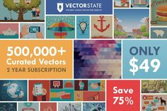 75% OFF a 2-Year Subscription with Vectorstate
