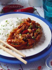 Az otthon ízei: Szecsuáni csirke Meat Recipes, Whole Food Recipes, Healthy Recipes, In Defense Of Food, Vietnamese Street Food, China Food, Food Lab, Pub Food, Hungarian Recipes
