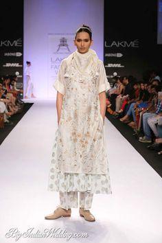 Pratima Pandey Lakme Fashion Week 2014   Lehengas & Sarees   Bigindianwedding