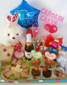 @ Ideas Para Fiestas, Gift Ideas, Breakfast, Box, Gifts, Surprise Gifts, Gift Basket, Original Gifts, Friendship