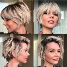 Hairstyles For Short Hair That Is Growing Out #growing #hairstyles #hairstylesforshorthair #short