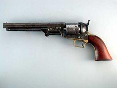 Super Rare Colt 1851 First Model Squareback Navy Colt.