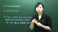(Korean conversation II) 2. Introducing family, Grand Father, Grand Moth...