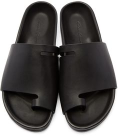 Rick Owens - Black Granola Sandals