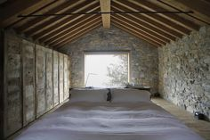 Completed in 2015 in Agna, ItalyThis construction is located in Tufi d'Agna, a small settlement in the mountain town of Corniglio, inside of the Tuscan-Emilian Appenine recently...