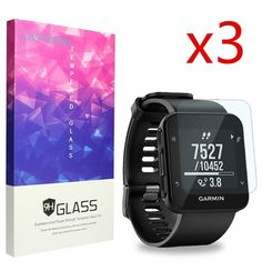 Garmin Forerunner 35 Screen Protector, Lamshaw 9H Tempered Glass Screen Protecto #Lamshaw