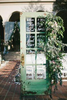 Featured Photographer: Onelove Photography; wedding ceremony program idea