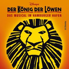 If I get to Hamburg, this is something I'd really like to see.... The Lion King in German!!!! :) Restaurant Hamburg, Watch The Lion King, Lion King Musical, Broadway, Perfect World, Moving Pictures, Travel List, Disney, Musicals
