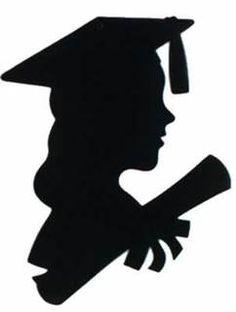 Graduation Decorations Girl Graduate Cutout Image