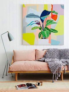 "Image via The Design Files / Photo by Annette o""Brien Decoration, Art Decor, Deco Cool, Greenhouse Interiors, Lounge Design, Chair Design, Interior Decorating, Interior Design, Interior Styling"