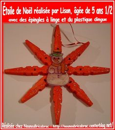 Bricolage no l on pinterest noel bricolage and christmas trees - Etoile de noel a fabriquer ...