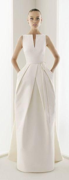 White long evening dress - Chic Dress jαɢlαdyes and beautiful Skirts
