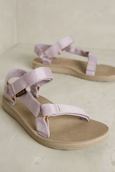 Teva Original Universal Lux Sandals Lavender Sandals #anthroregistry