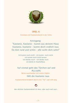 Reime & Fingerspiele im Herbst - Kinderlieder für Kita & Krippe