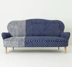 Add this statement couch to your living room.