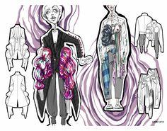 ARTS THREAD Portfolios - ARTS THREAD Fashion Illustration Collage, Illustration Mode, Fashion Collage, Graphic Design Illustration, Fashion Art, Fashion Portfolio Layout, Fashion Design Sketchbook, Fashion Sketches, Portfolio Design