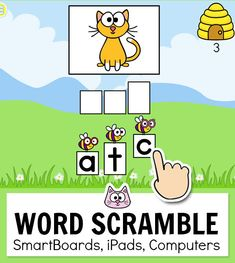 Practice long and short vowel sounds with this engaging word building game. This fun game for kids works with any device Online Games For Kids, Fun Games For Kids, Spelling Games Online, Kindergarten Games, Classroom Activities, Educational Websites For Kids, Educational Games, Smart Board Activities, Short Vowel Sounds