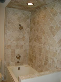 tiled shower pictures | help you with your bathroom remodel tiled in shower bath enclosure ...