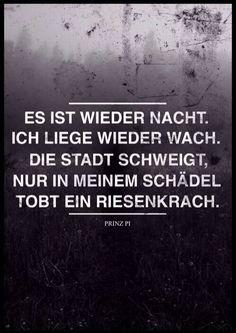 Prinz Pi Zitate Gedanken Zum Tag Wachte Traurige Spruche Schone Worte