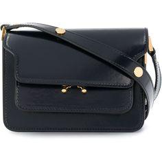 Marni mini Trunk shoulder bag (30,430 EGP) ❤ liked on Polyvore featuring bags, handbags, shoulder bags, blue, color block handbags, colorblock purse, marni handbags, marni purse and miniature handbags