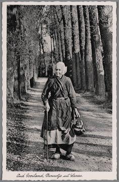 Oud Gooiland, woman in Laren, the Netherlands