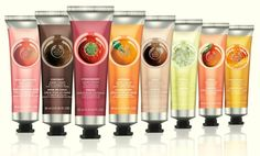 The Body Shop Hand Cream ( Selection Of Different Scent ) The Body Shop, Body Shop At Home, Perfume, Body Shop Skincare, Hand Care, Travel Size Products, Body Products, Beauty Products, Smell Good
