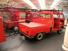 Credit: Lea Leathers. VW museum - Industrial Facility Feuerwehr Double Cab.