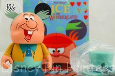 "Mad Hatter 3"" Vinylmation Disney Alice In Wonderland Series W/ Box & Foil"