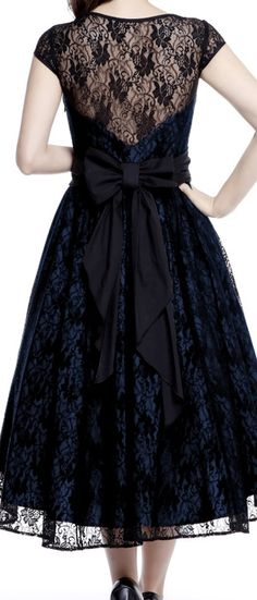 1950s Inspired Lace Dress-- ChicStar design by Amber Middaugh -- Standard Size $59.95 Plus Size $75.95