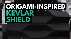 The Origami-Inspired Kevlar Shield Absorbs Handgun Bullets Handgun, Bullets, Latest Video, Origami, Improve Yourself, Clever, Channel, Inspired, Videos