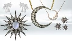 Celestial jewelry continues to star in jewelry collections Jewelry designers have been looking up to the skies for the past couple of years, and the styles continue to twinkle with everything from constellations and stars…