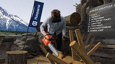 This Swedish Chainsaw Brand Just Launched a Virtual Reality Logging Game   Adweek