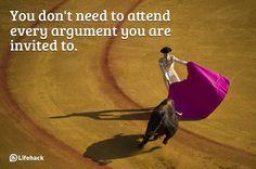 Argument diffuser