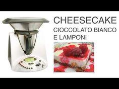 Cheesecake Cioccolato Bianco e Lamponi Bimby