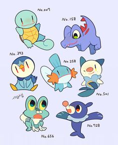 Water type starters. Usually my go-to depending on region.