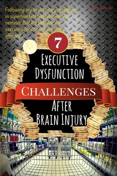After a brain injury executive dysfunction can lead to decision fatigue. This is more than just being indecisive. Here's the 7 ways it can affect a person. Brain Injury Recovery, Brain Injury Awareness, Stroke Recovery, Tramatic Brain Injury, Post Concussion Syndrome, Decision Fatigue, Male Infertility, Head Injury, Thing 1