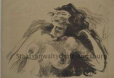 Edvard Munch. Nudo. 1920