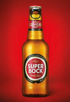 Cerveja portuguesa Super Bock | #packaging #design