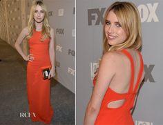 Emma Roberts In Stella McCartney - FOX Broadcasting Company, Twentieth Century FOX Television and FX Post Emmy Party