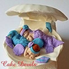 The fondant baby cake toppers are now available in twins! . . CakeDevils.etsy.com . . #twins #twinsbabyshower #twinmermaids #twinmom #momoftwins #babyshowercake #babyshower #babyshowerideas #twinning #twinpregnancy #twinboys #twinbabies #twingirls #etsyshop #etsyseller #love #baby #eventplanner #eventstyling #pregnant #twinsmommy #twiceblessed #babyshowerdecor #cakedevils #pin #fondant #caketopper #mermaids