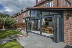 Appleton Road Premium Glazing & Aluminium Doors Case Study from Express Bi-folding Doors , as Seen on Grand Designs.