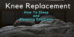 I'll share how I slept after knee replacement (TKR). I was unable to sleep and I learned about sleeping positions after knee replacement (and side sleeping) Knee Replacement Recovery, Knee Replacement Surgery, Joint Replacement, Knee Surgery Recovery, Knee Strengthening Exercises, Ways To Fall Asleep, How To Strengthen Knees, Unable To Sleep, Ways To Sleep