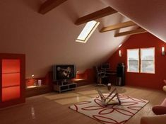 attic room 29 39 Attic Rooms Cleverly Making Use of All Available Space