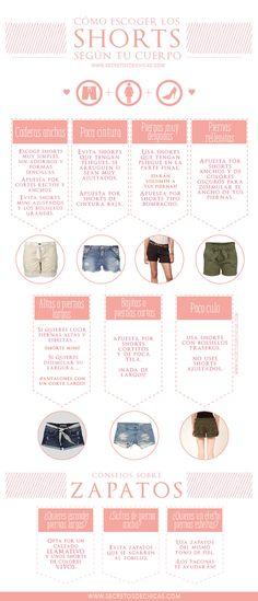 Escoger los shorts que mejor te sientan