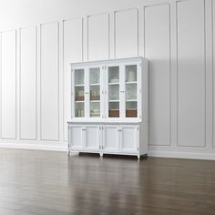 Harrison 6-pc Cognac Modular Wall Unit/Glass Doors 84\